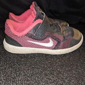 Girls Nike size 8 sneakers